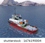Multi Purpose Rescue Tug Boat...