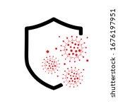 icon covid 19 coronavirus... | Shutterstock .eps vector #1676197951