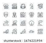 set of air pollution related...   Shutterstock .eps vector #1676221954
