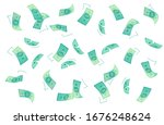 finance vector background.... | Shutterstock .eps vector #1676248624