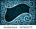 abstract vintage floral vector...