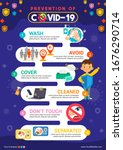prevention of covid 19... | Shutterstock .eps vector #1676290714