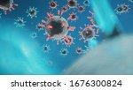 3d illustration  abstract... | Shutterstock . vector #1676300824