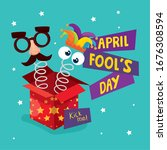 April Fool Day With Box...