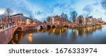 Amsterdam  Netherlands Bridges...