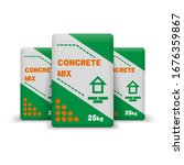 Concrete Mix. Paper Sacks...