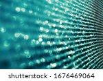 bokeh technology background... | Shutterstock . vector #1676469064