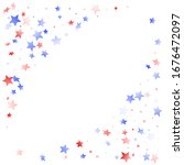 american memorial day stars... | Shutterstock .eps vector #1676472097
