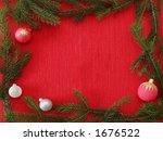 christmas frame | Shutterstock . vector #1676522