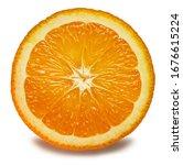 Fresh Orange Fruit. Orange...