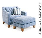Contemporary Tufted Back Accent ...