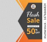 modern sale banner template... | Shutterstock .eps vector #1676666824