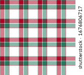 Red White And Green Tartan...