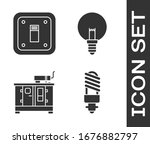set led light bulb  electric... | Shutterstock .eps vector #1676882797