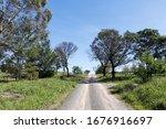 Gravel Country Road Australia...
