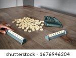 seville  spain  march 19  2020  ...   Shutterstock . vector #1676946304
