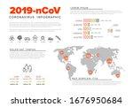 vector flyer infographic... | Shutterstock .eps vector #1676950684
