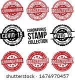 coronavirus covid 19 stamp... | Shutterstock .eps vector #1676970457