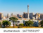 Architecture of downtown of Johannesburg, South Africa