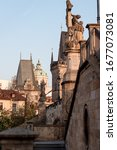 Stairs To The Charles Bridge In ...