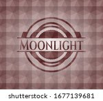 moonlight red badge with... | Shutterstock .eps vector #1677139681
