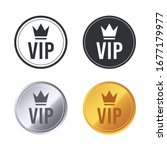 vip icons. exclusive vip club... | Shutterstock .eps vector #1677179977