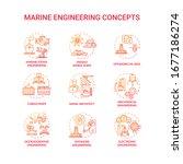 marine engineering red concept...   Shutterstock .eps vector #1677186274