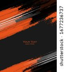 grungy vector background.... | Shutterstock .eps vector #1677236737