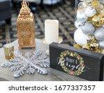Holiday Decorations At An...