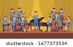 Symphony Orchestra. Classical...