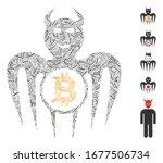dash mosaic based on bitcoin... | Shutterstock .eps vector #1677506734