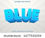 blue text effect template with... | Shutterstock .eps vector #1677533254