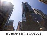 skyscrapers over a blue sky | Shutterstock . vector #16776031