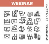 webinar education collection... | Shutterstock .eps vector #1677613744