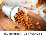 Spicy Crispy Roasted Chickpeas...