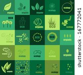 ecology icons set   isolated on ... | Shutterstock .eps vector #167772041