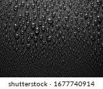 a close up image of small water ... | Shutterstock . vector #1677740914