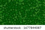 saint patrick's day green... | Shutterstock .eps vector #1677844087
