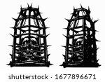 Skulls In Cages For Torture  I...