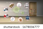 vector background of living... | Shutterstock .eps vector #1678036777
