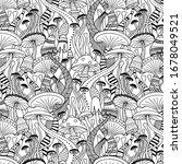 seamless vector pattern of...   Shutterstock .eps vector #1678049521