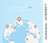 coronavirus covid 19 outbreak... | Shutterstock .eps vector #1678098577