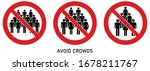 avoid crowds social distancing... | Shutterstock .eps vector #1678211767