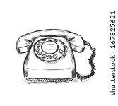 vector sketch illustration  ... | Shutterstock .eps vector #167825621