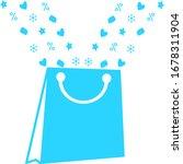 paper shopping bag icon  logo....