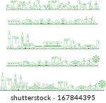 city   Shutterstock .eps vector #167844395