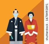 covid 19 wedding planning  a... | Shutterstock .eps vector #1678492891
