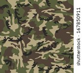 a simple military camouflage...   Shutterstock . vector #167850911