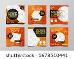 live music concert banner... | Shutterstock .eps vector #1678510441
