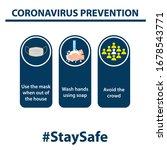 coronavirus covid 19 prevention ...   Shutterstock .eps vector #1678543771